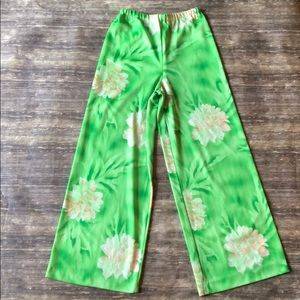 VINTAGE 70S HAWAIIAN BELL BOTTOMS
